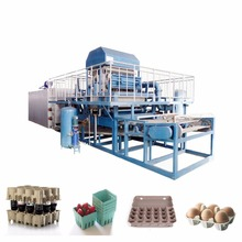waste paper recycle used egg tray machine/automatic paper pulp egg tray production line/small machinemaking egg tray