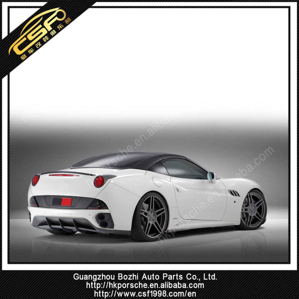 car rear lip for Ferrari california rear bumper position carbon rear diffuser