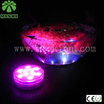 2014 China New product submersible light base for centerpiece of Aquarium