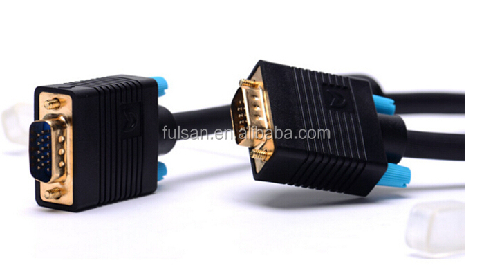 High Quality Male to Male VGA Cable 3+9 3M