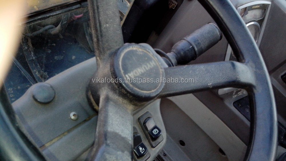 Hyundai 60-7 Excavator Original Korea used wheel Excavator For Sale