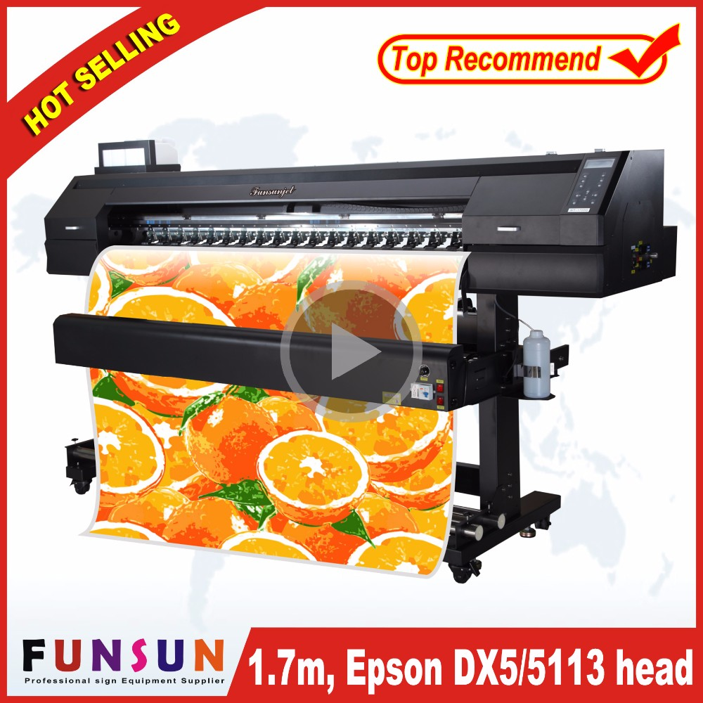 High quality digital sublimation printer,plotter printer sublimation with 5113 head