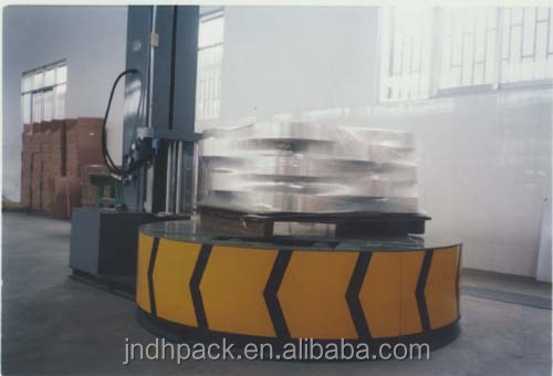 High Quality Factory Price Whole Sale Plastic Stretch Film Automatic Paper Roll Wrapping Machine