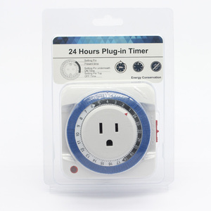 JISHI 24 hours mechanical electronic timer mechanical timer switch