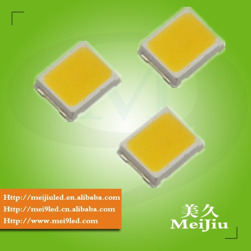 High Brightness PLCC Top View 28-30Lm 0.2 watt led 2835 smd