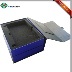 Packaging kit design/double deck electronic devices packaging box
