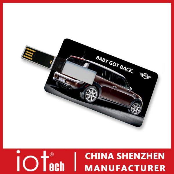 Custom Logo Brand Card Type USB Flash Drives Wholesale