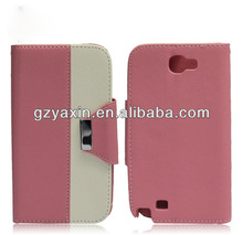 Deluxe Luxury Leather Case For Samsung Galaxy Note2