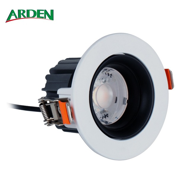 Hot selling 6Inch 38W IP65 Adjustable LED Downlight with RGBW