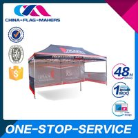 Reasonable Pricing Unique Design Custom Printed 600D Oxford Hard Wall Tent