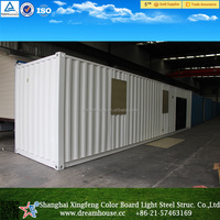 2016 China newest 20ft 40ft shipping container house/prefabricated mobile container office/oversea container office for sale