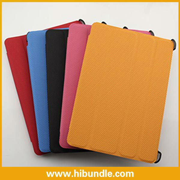 Basketball Texture Multi-Folding Folio Case for iPad Mini