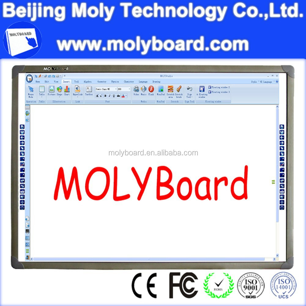 Touch screen interactive whiteboard with good after-sales service