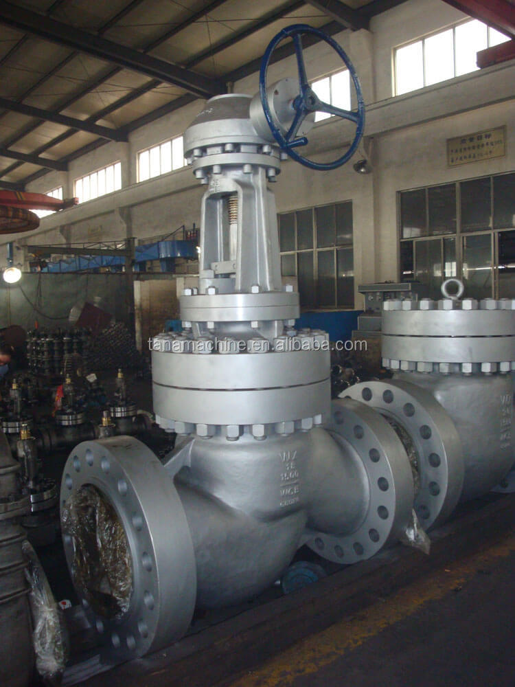 API600 rising stem cast steel globe stop valve price drawing