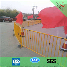 ISO9001and CE factory/high quality hot dipped galvanized temporary security fence/construction site