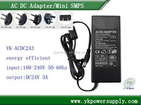 China trade adapter mass power ac adapter 100 240v 50 60hz laptop ac adapter
