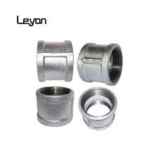 galvanized hydraulic water fittings sockets and nipples BSP hose fittings NPT thread standard sockets