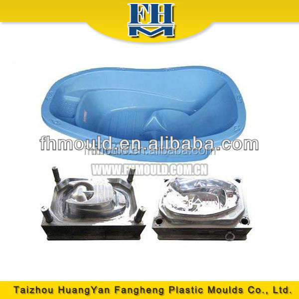 sale cheap price high quality plastic injection baby bathtub mold