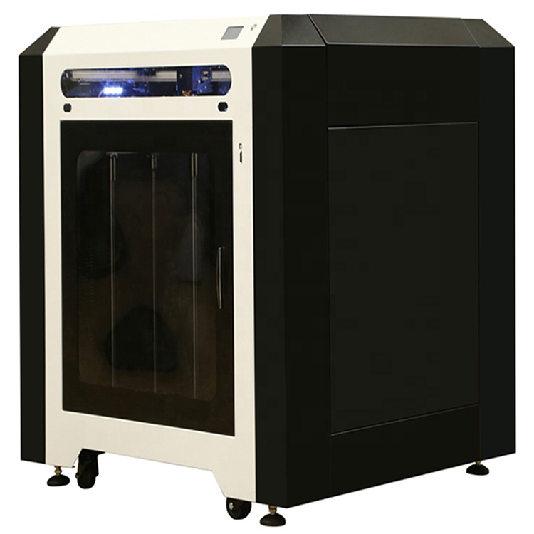 Metal Color Large Kit FDM House Wax Machine Dual Extrude 3D Printer