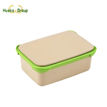 Hot Sale Rice Husks Lunch Box For Camping