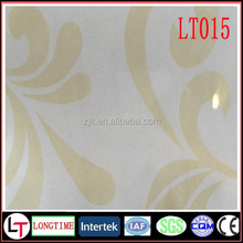 Haining pet laser hot stamping foil pvc decoration heat tranfer film for wall panel
