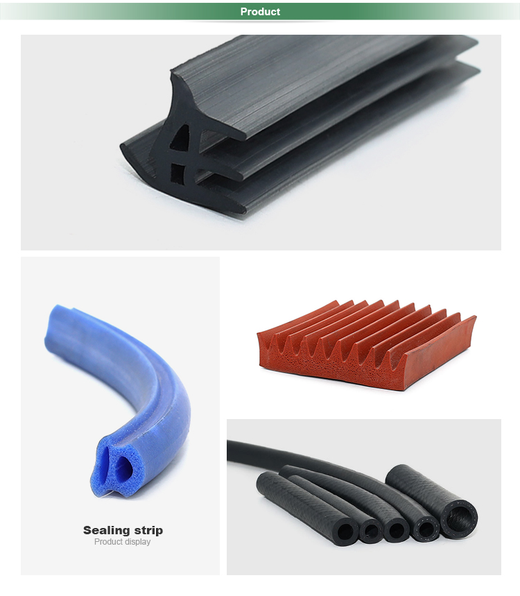 Extrusion rubber weatherstrip caravan window rubber seal