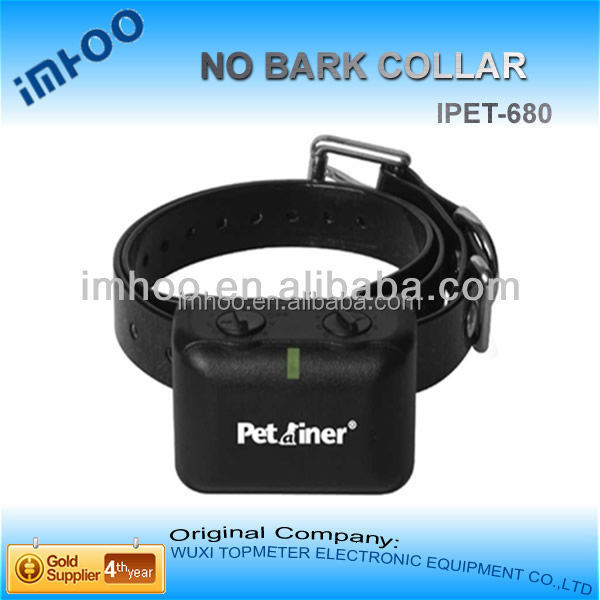 3 dogs rechargeable waterproof remote control dog training collar No Bark Control with charger