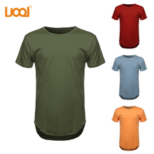 2017 High Quality Short Sleeve 100%Cotton Pre-shrunk O-neck Silk Screen Printing Wholesale Oversize Men's T Shirt