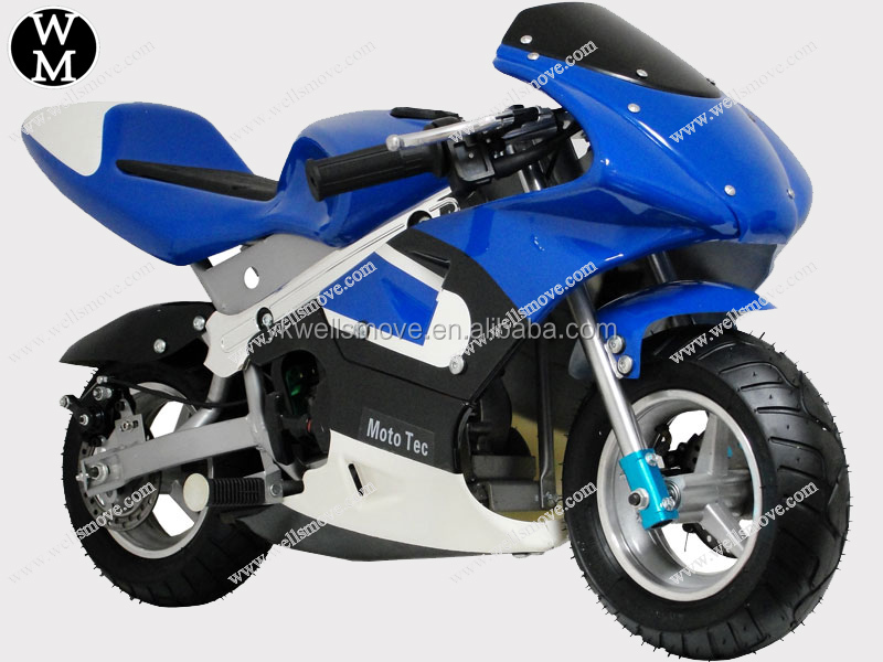 Gas power cross pocket bike for children racing
