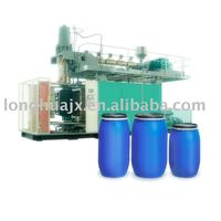 Barrels of gasoline blow molding machine