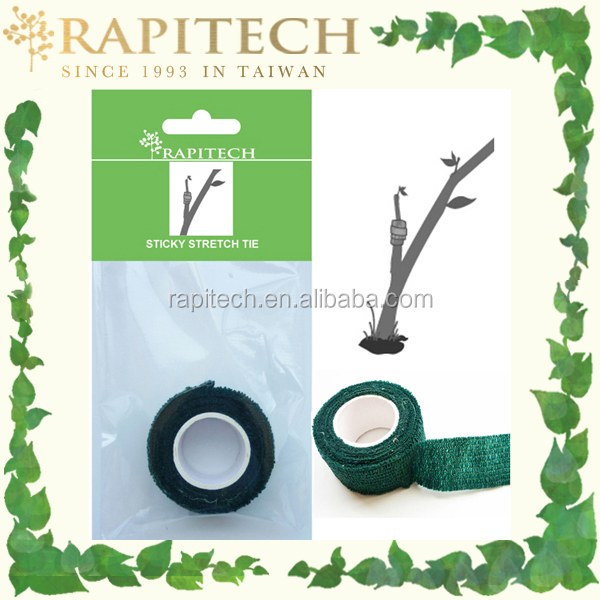 450cmL Green Gardening Sticky Stretch Tie