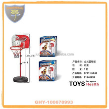 Children small basketball stands with hoop and safety certificate