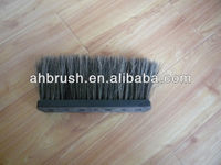 nylon abrasive wire round industrail cleaning brush roll/car washing cleaning brush