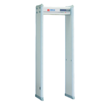 MD-600Y fire-proof 6 detecting areas high sensitivity Walk Through Metal detector Gate