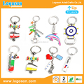 Portugal Travel Souvenirs Gifts Metal Classic Key Rings Attraction Keyring Pendant Key Fobs