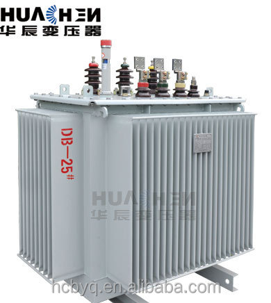 500KVA 11/0.415KV oil immersed distribution transformer