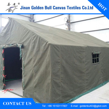 Waterproof Strong Large Construction Tent Refugee Tent Relief Tent