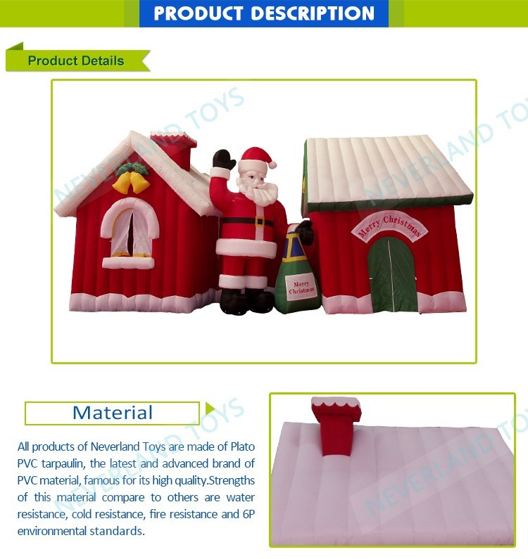 Outdoor inflatable christmas decorations Durable New Design