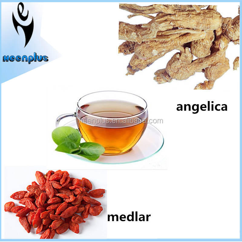 Free Samples Angelica and Medlar Fitness Female Beauty Tea