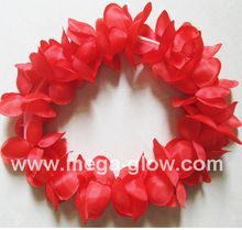 2016 Hot sale party decoration Wholesale Plastic Christmas Led Hawaii Flower Lei