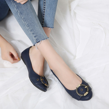 New wholesale latest design flat ladies casual shoes