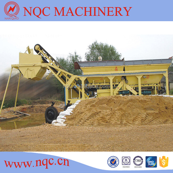 YWCB200 Mobile Cement Soil Mixing Plant