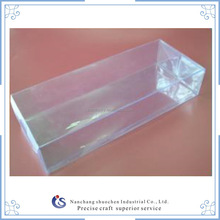 custom transparent PVC/PET plastic packing box for all size