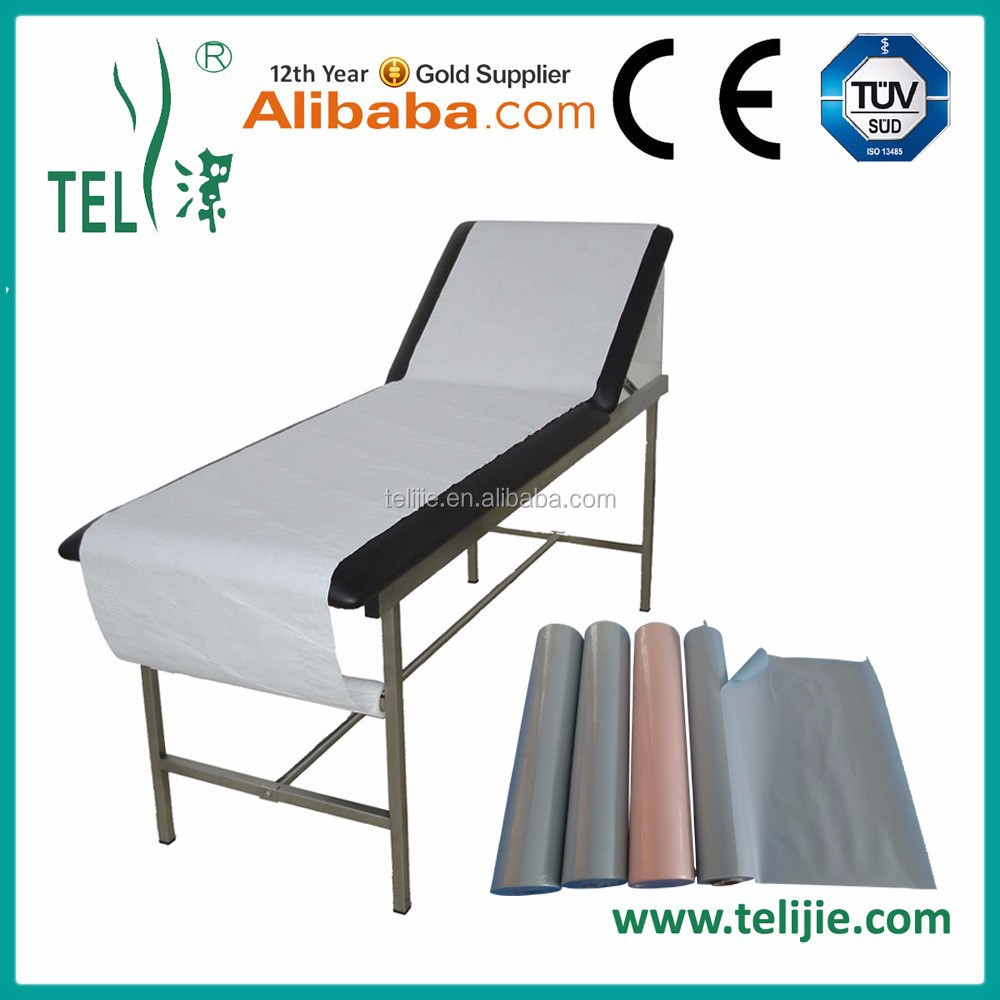 China Industry Pioneer Disposable hospital paper bed roll for hospital & clinic usage