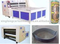 corrugated cardboard semi-automatic rotary die cutting machine