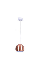 Modern Steel Metal Round Ball Lantern Led Pendant Lamp