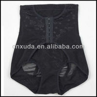 Lady slimming shaper sexy panty with buckle