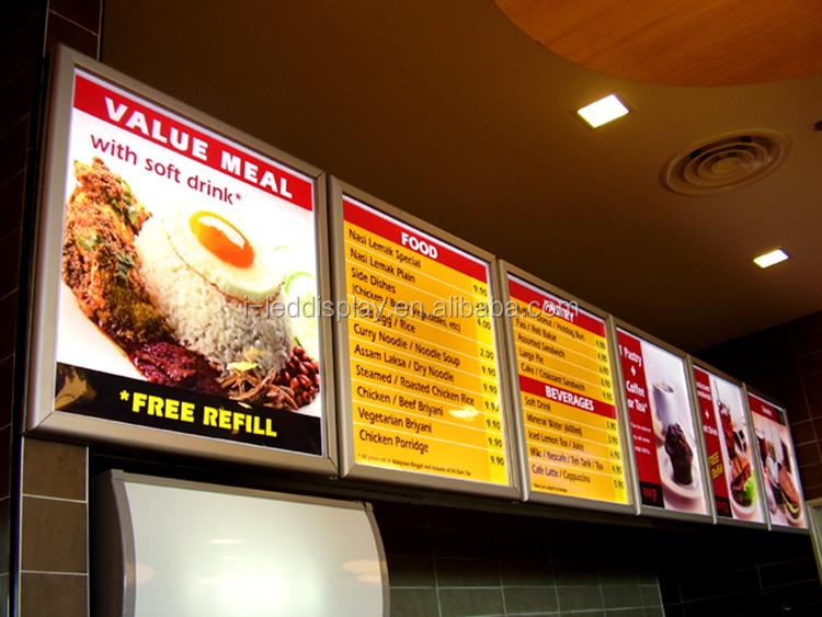 restaurant light led menu board buy led menu board light menu board