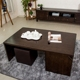 Antique Black Wooden Centre Table Designs High Quality Coffee Table