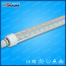 Super bright V type 40w 8ft LED freezer cooler tube light fixture for walk in cooler direct replacement T8 T12
